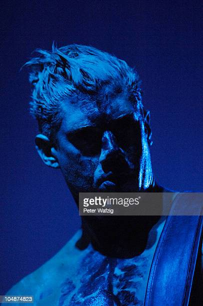 Wes Borland of Limp Bizkit performs on stage at the Philipshalle on September 05 2010 in Duesseldorf Germany