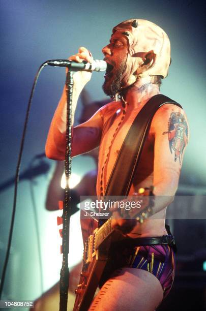 Wes Borland performs with Big Dumb Face