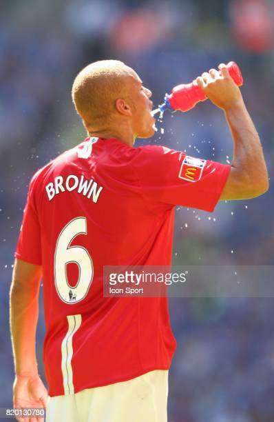 Wes BROWN Manchester United / Chelsea Community Shield Wembley Londres