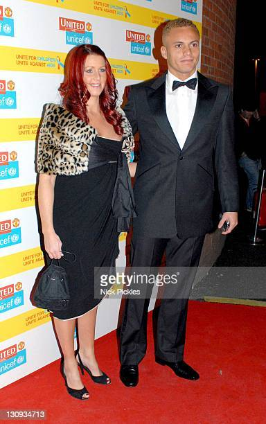 Wes Brown during United for UNICEF Gala Dinner Arrivals at Old Trafford Manchester United Football Club in Manchester Great Britain