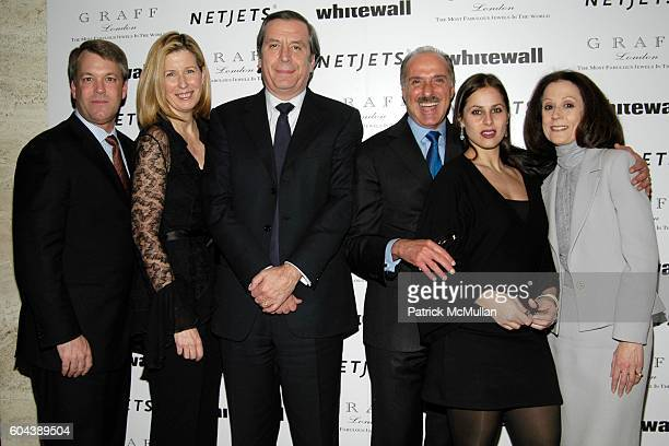 Wes Carroll Colleen Caslin Henri Barguirdjian Peter Kairis Christina Jotterand and Lorraine Horan attend WHITEWALL Magazine Launch Party hosted by...