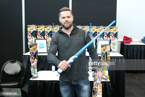 Wes Chatham attends Day 2 of Backstage Creations Celebrity Retreat at New York Comic Con on October 05, 2019 in New York City.