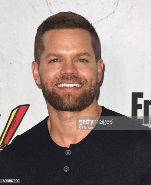 Wes Chatham attends Entertainment Weekly's annual Comic-Con party in celebration of Comic-Con 2017 at Float at Hard Rock Hotel San Diego on July 22,...