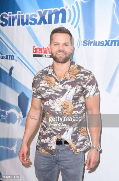 Wes Chatham attends SiriusXM's Entertainment Weekly Radio Channel Broadcasts From Comic Con 2017 at Hard Rock Hotel San Diego on July 22 2017 in San...