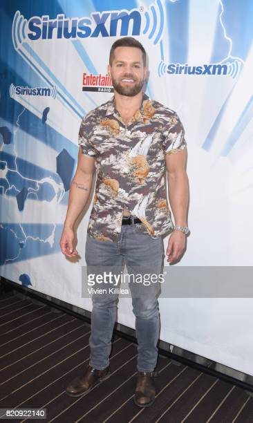 Wes Chatham attends SiriusXM's Entertainment Weekly Radio Channel Broadcasts From Comic Con 2017 at Hard Rock Hotel San Diego on July 22, 2017 in San...