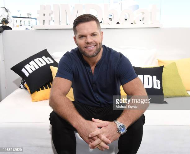 Wes Chatham attends the #IMDboat at San Diego Comic-Con 2019: Day Three at the IMDb Yacht on July 20, 2019 in San Diego, California.