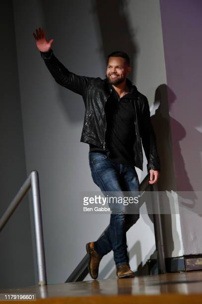 Wes Chatham onstage during the Amazon Prime Video Takeover featuring Tom Clancy's Jack Ryan and The Expanse at New York Comic Con 2019 Day 3 at Jacob...