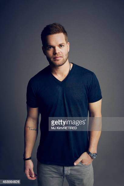 Wes Chatham poses for a portrait at the Getty Images Portrait Studio powered by Samsung Galaxy at ComicCon International 2014 on July 24 2014 in San...