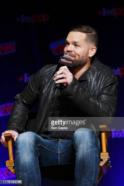 Wes Chatham speaks onstage during the Amazon Prime Video Takeover featuring Tom Clancy's Jack Ryan and The Expanse at New York Comic Con 2019 Day 3...