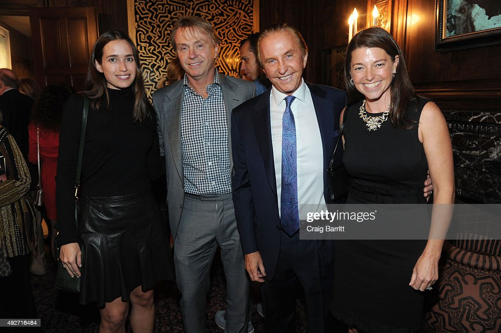 Wes Edens and Geoffrey Kent attend Geoffrey Kent's book launch celebrating: 'Safari: A Memoir Of A Worldwide Travel Pioneer' on October 14, 2015 in New York City.