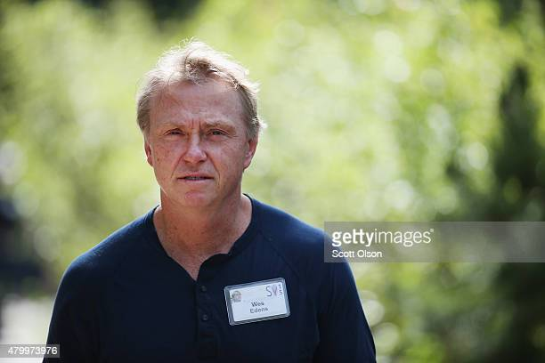 Wes Edens Milwaukee Bucks coowner attends the Allen Company Sun Valley Conference on July 8 2015 in Sun Valley Idaho Many of the world's wealthiest...
