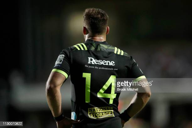 Wes Goosen of the Hurricanes is pictured during the round one Super Rugby match between the Waratahs and the Hurricanes at Brookvale Oval on February...