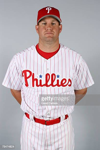 Wes Helms of the Philadelphia Phillies poses during photo day at Bright House Networks Field on February 24 2007 in Clearwater Florida
