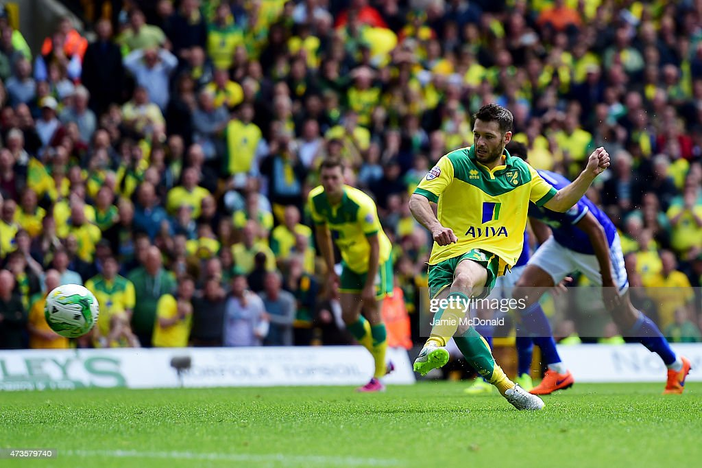 Norwich City v Ipswich Town - Sky Bet Championship Playoff Semi-Final