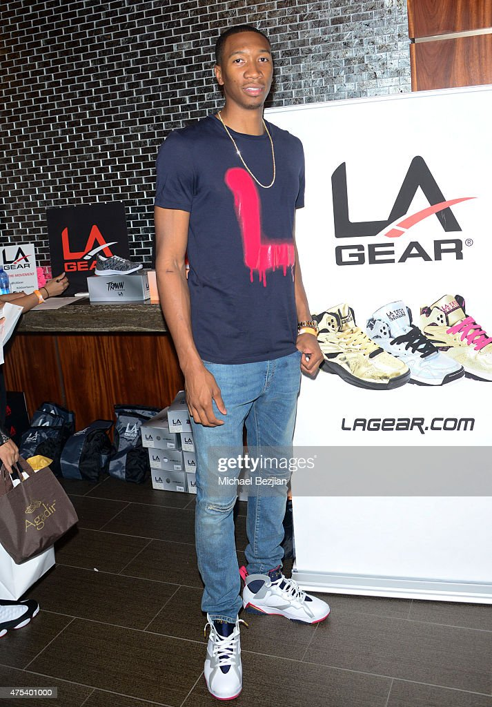 Wes Johnson attends LA Gear Presents Sports Spectacular Charity Basketball Game Hosted By Tyga on May 30, 2015 in Los Angeles, California.