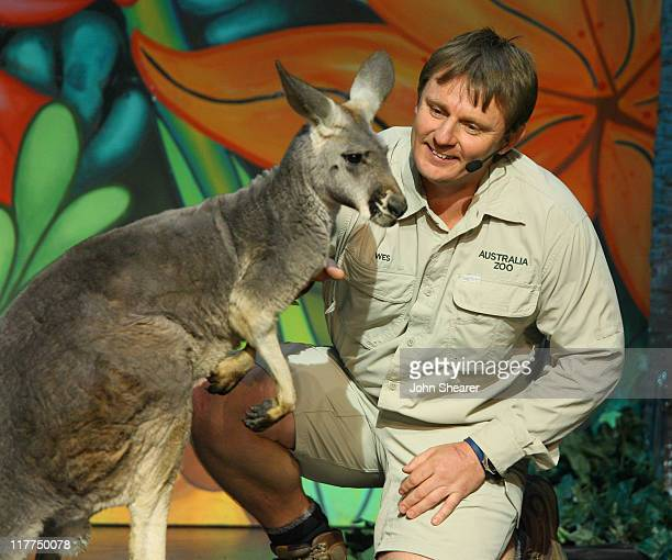 Wes Mannion, Queensland's Australia Zoo Director during G'Day USA Aussie Family Concert at LA Music Center, Ahmanson Theater in Los Angeles,...