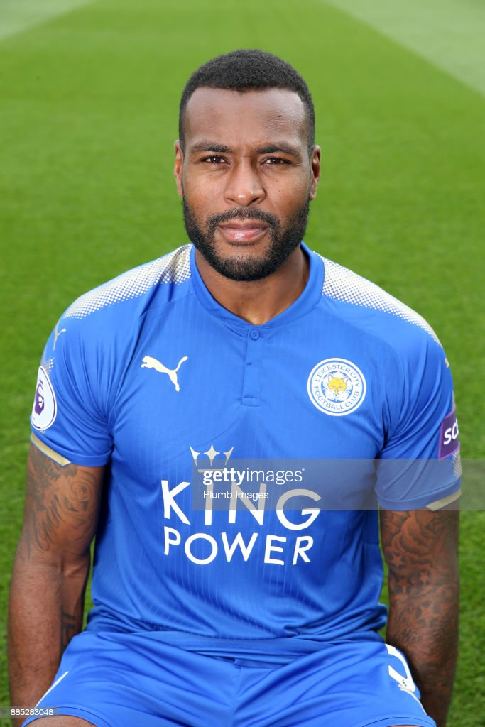 Wes Morgan during the Leicester City Official Team Group on November 1 , 2017 in Leicester, United Kingdom.