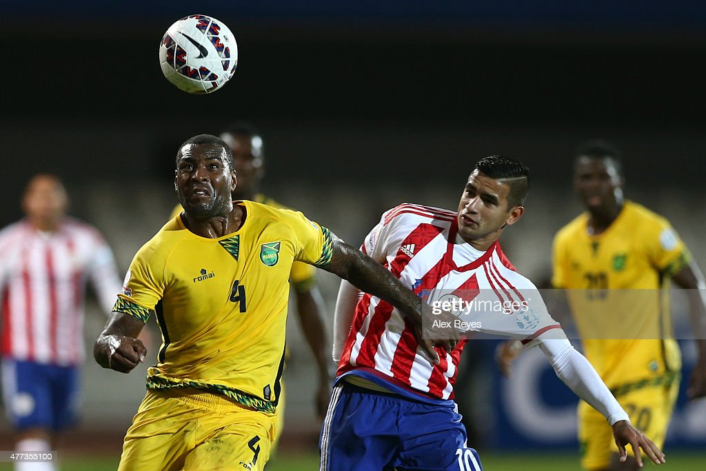 Paraguay v Jamaica: Group B - 2015 Copa America Chile
