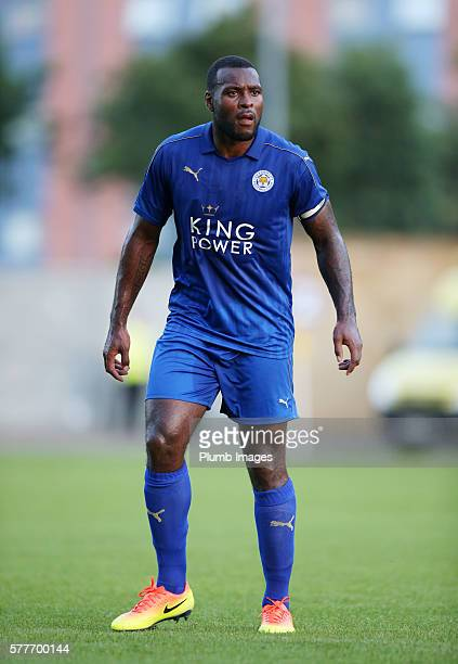 Wes Morgan of Leicester City during the pre season friendly between Oxford United and Leicester City at Kassam Stadium on July 19 2016 in Oxford...
