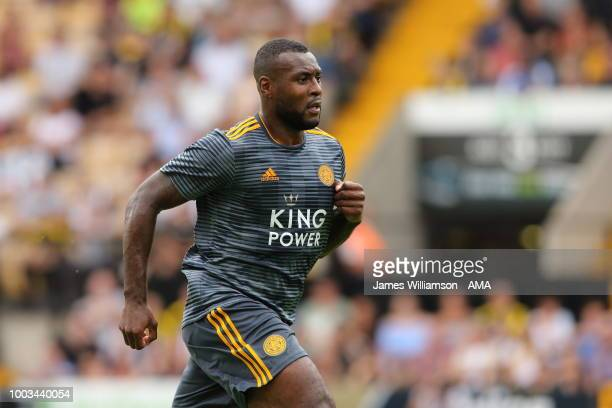 Wes Morgan of Leicester City during the preseason match between Notts County and Leicester City at Meadow Lane on July 21 2018 in Nottingham England