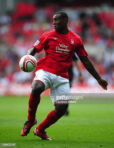 Wes Morgan of Nottingham Forest in action during the npower Championship match between Nottingham Forest and Leeds United at City Ground on August 15...