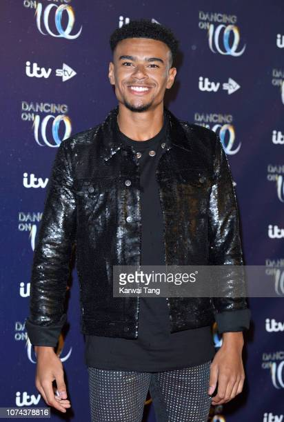 Wes Nelson attends a photocall for the new series of Dancing On Ice at Natural History Museum Ice Rink on December 18 2018 in London England