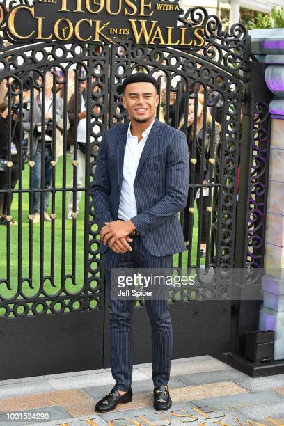 """Wes Nelson attends the World Premiere of """"The House With The Clock In Its Walls"""" at Westfield White City on September 05, 2018 in London, England."""