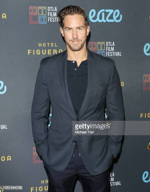 """Wes Ramsey attends the 2018 Downtown Los Angeles Film Festival - """"All Creatures Here Below"""" """"Original Sin"""" And Perception"""" Press line held at Regal..."""