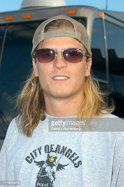Wes Scantlin of Puddle of Mudd during The Nokia TMobile Ramps Amps Invitational Presented by EXPNcom at Randalls Island in New York City New York...