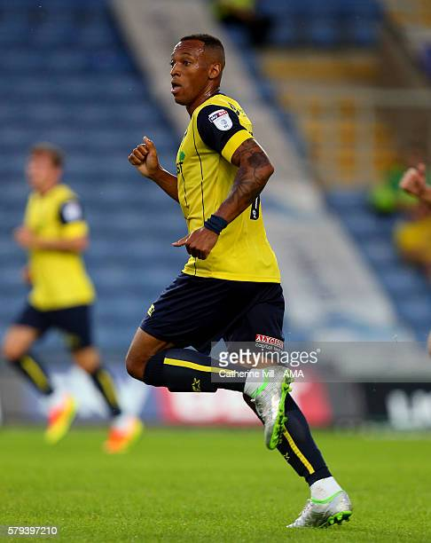 Wes Thomas of Oxford United during the PreSeason Friendly match between Oxford United and Leicester City at Kassam Stadium on July 19 2016 in Oxford...