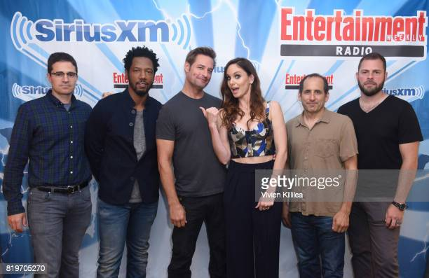 Wes Tooke Tory Kittles Josh Holloway Sarah Wayne Callies Peter Jacobson and Ryan Condal attend SiriusXM's Entertainment Weekly Radio Channel...