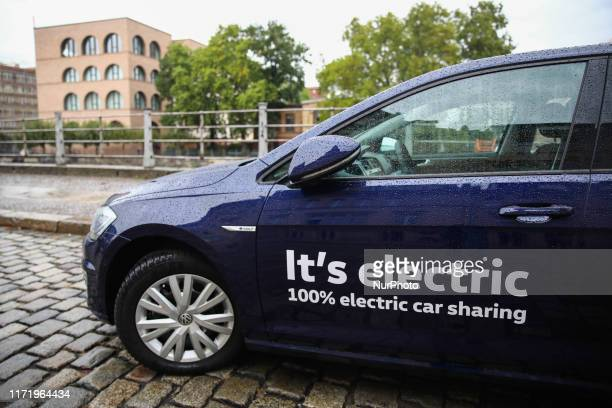 WeShare electric car is seen in Berlin Germany on 25 September 2019