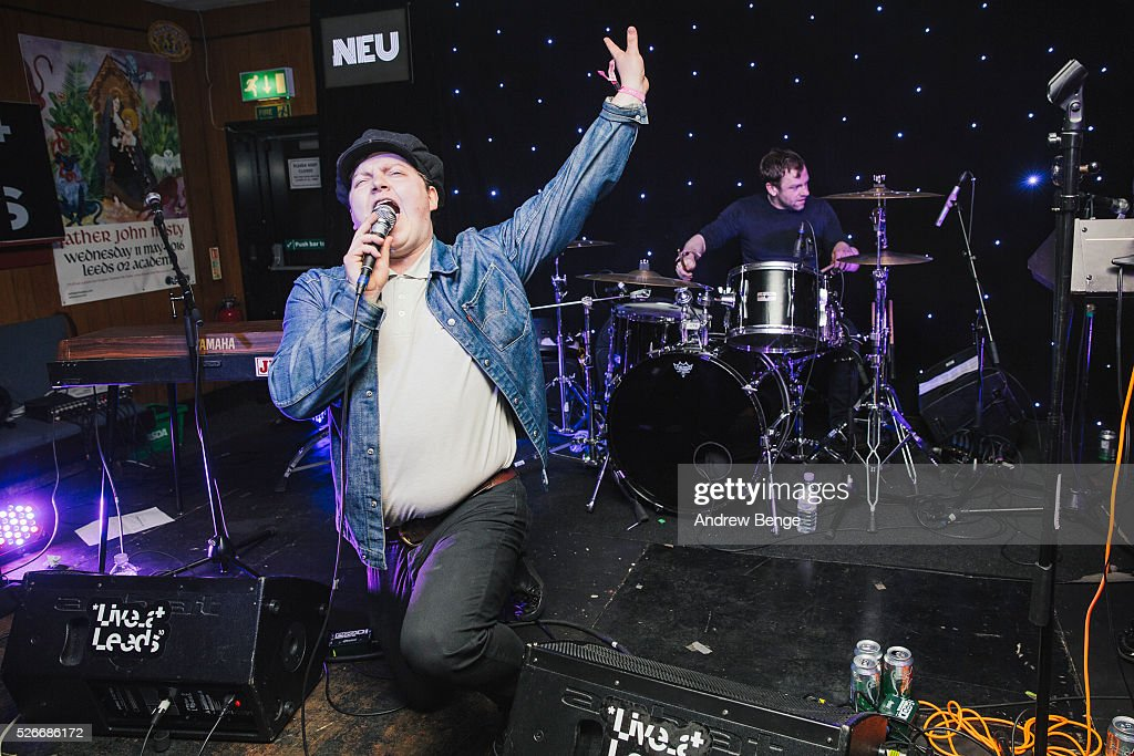 Wesley Gonzalez performs at The Brudenell Social Club during Live At Leeds on April 30, 2016 in Leeds, England.