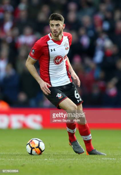 Wesley Hoedt of Southampton during The Emirates FA Cup Fifth Round match between West Bromwich Albion and Chelsea at The Hawthorns on February 17...