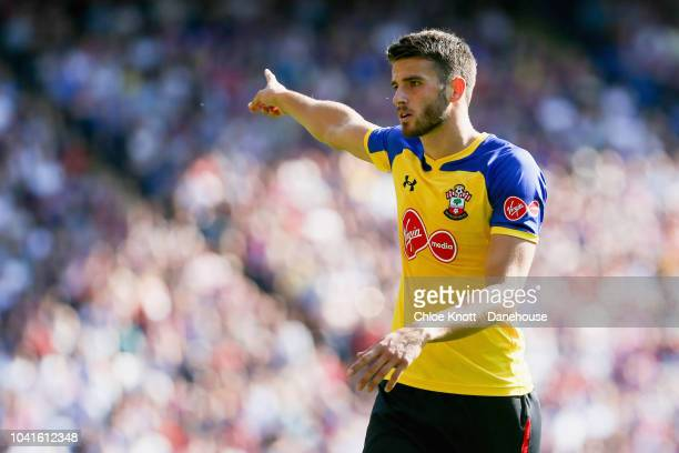 Wesley Hoedt of Southampton during the Premier League match between Crystal Palace and Southampton FC at Selhurst Park on September 1 2018 in London...