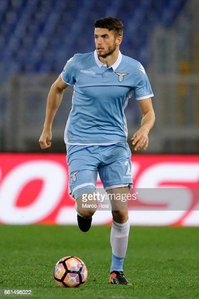 Wesley Hoedt of SS Lazio during the Serie A match between SS Lazio and FC Torino at Stadio Olimpico on March 13 2017 in Rome Italy