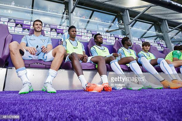 Wesley Hoedt of SS Lazio Roma during the preseason friendly match between RSC Anderlecht and SS Lazio Roma on July 19 2015 at the Constant Vanden...