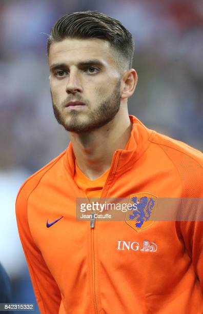Wesley Hoedt of the Netherlands during the FIFA 2018 World Cup Qualifier between France and the Netherlands at Stade de France on August 31 2017 in...