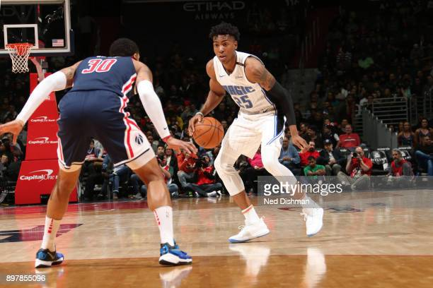 Wesley Iwundu of the Orlando Magic handles the ball against the Washington Wizards on December 23 2017 at Capital One Arena in Washington DC NOTE TO...