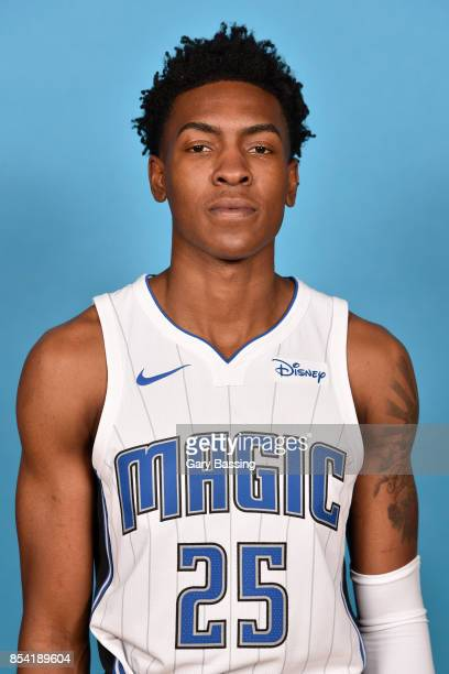 Wesley Iwundu of the Orlando Magic poses for a head shot during media day on September 25 2017 at Amway Center in Orlando Florida NOTE TO USER User...