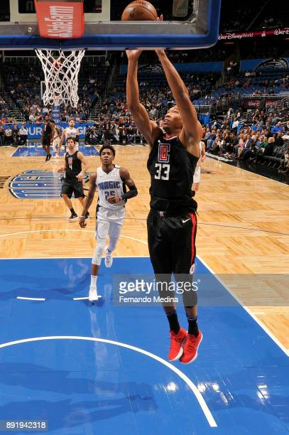 Wesley Johnson of the LA Clippers shoots the ball against the Orlando Magic on December 13 2017 at Amway Center in Orlando Florida NOTE TO USER User...