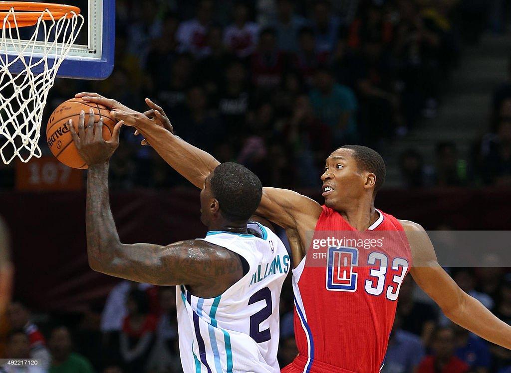 BASKET-USA-CHN-NBA-CLIPPERS-HORNETS : News Photo