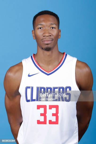 Wesley Johnson of the Los Angeles Clippers poses for a portrait during 2017 Media Day on September 25 2017 at the Los Angeles Clippers Practice...