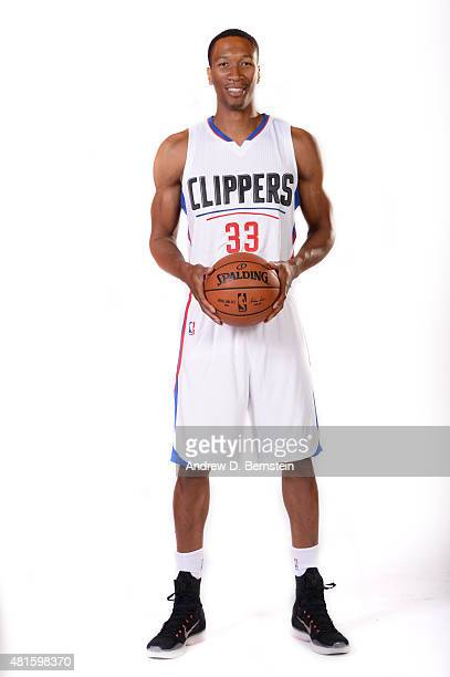 Wesley Johnson of the Los Angeles Clippers poses for a portrait at STAPLES Center on July 21 2015 in Los Angeles California NOTE TO USER User...