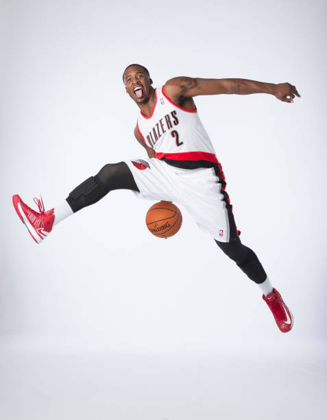 Wesley Matthews Of The Portland Trail Blazers NBA Media Day Wall Art