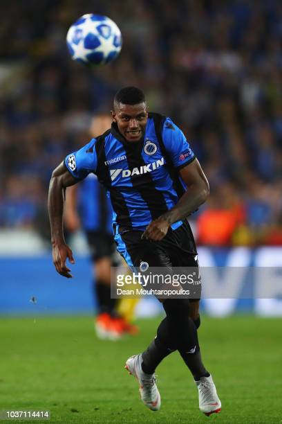 Wesley Moraes da Silva of Club Brugge KV in action during the Group A match of the UEFA Champions League between Club Brugge and Borussia Dortmund at...