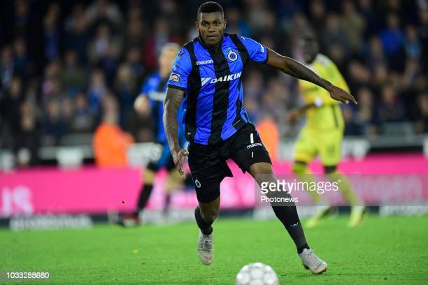 Wesley Moraes Ferreira Da Silva forward of Club Brugge in action during the Jupiler Pro League match between Club Brugge and KSC Lokeren OV at the...