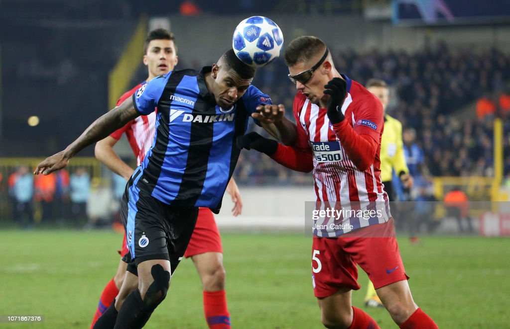 Club Brugge v Club Atletico de Madrid - UEFA Champions League Group A : News Photo