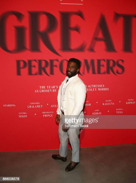 Wesley Morris at The New York Times Magazine Celebrates The Great Performers Issue 2017 on December 7 2017 in Los Angeles California