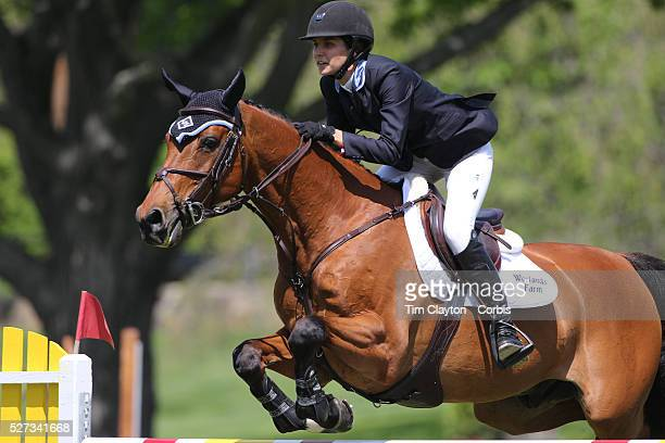 Wesley Newlands riding Lapacco in action during the $100000 Empire State Grand Prix presented by the Kincade Group during the Old Salem Farm Spring...